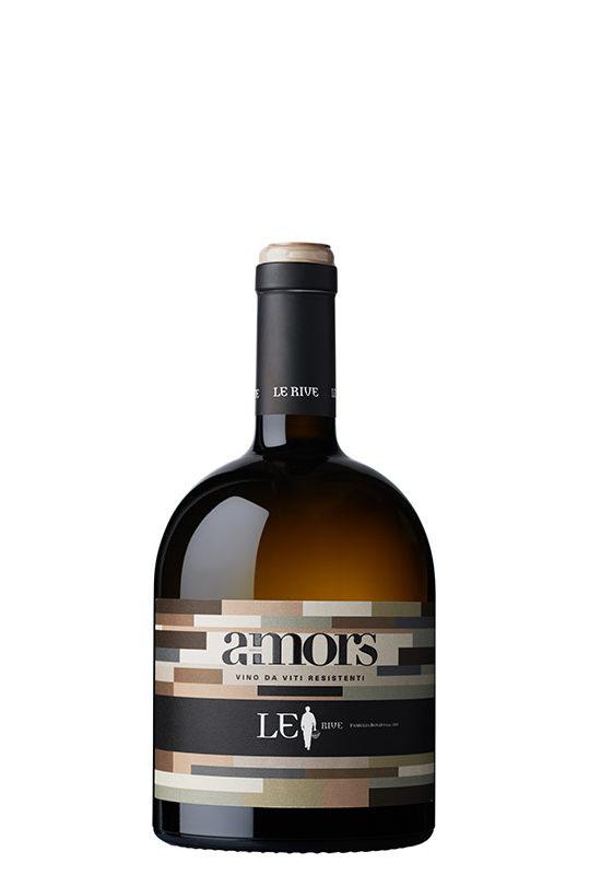 Bottiglia A-mors Le Rive Vino da viti resistenti