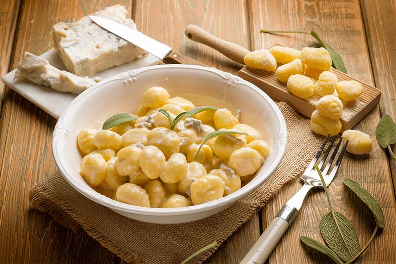 gnocchi al gorgonzola